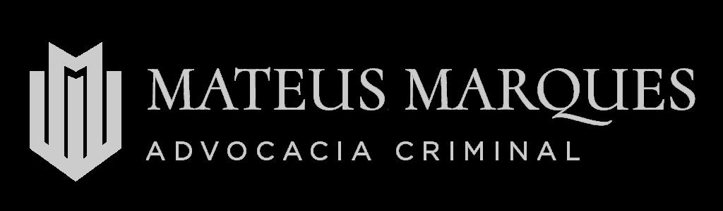 Logo Mateus Marques advogado cinza